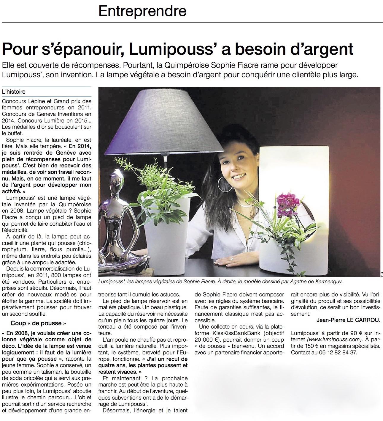Lumipouss' financement participatif