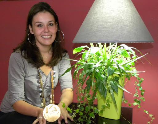 Lumipouss, Sophie Fiacre, lauréate médaille d'or concours Lépine 2011