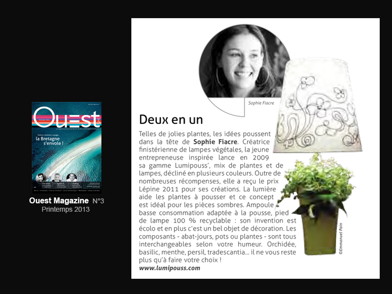 Lumipouss' article Ouest